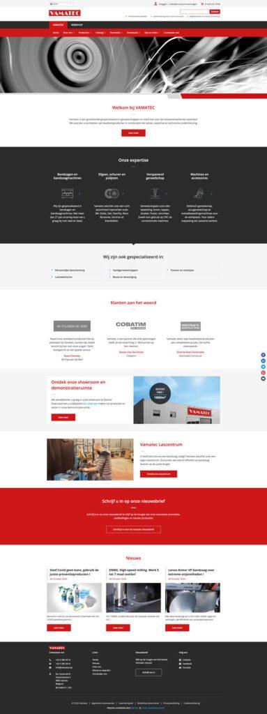 Een performante Drupal Commerce webshop voor Vamatec