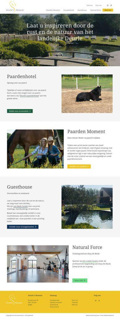 Inspirerende WordPress multisite voor Deurle's Moment